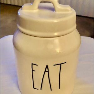 """Rae Dunn small/baby """"Eat"""" Canister"""